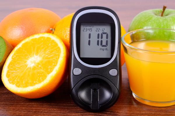 Control of blood sugar levels